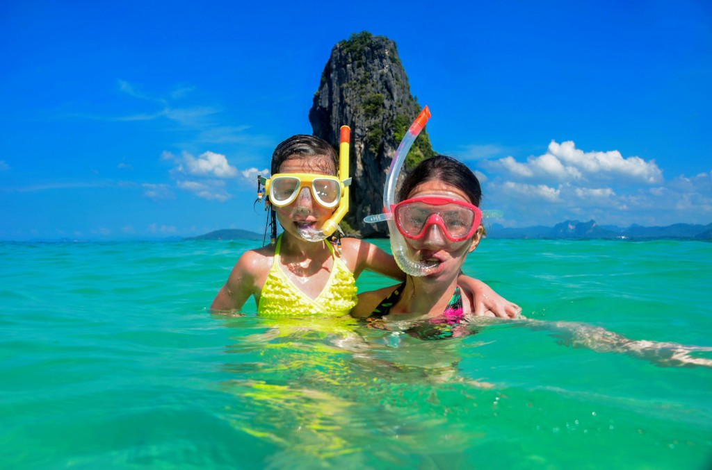 Thajsko s dětmi