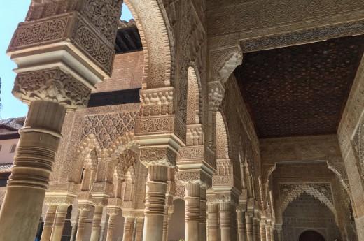 Palác Alcázar v Seville