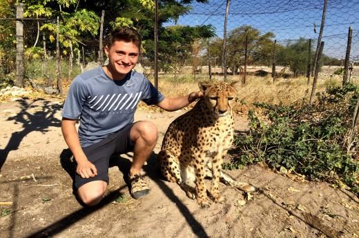 být s gepardem je neskutečný zážitek