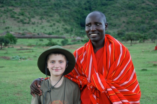 Keňa, kmen Masajů