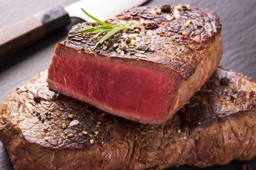 steak medium rare