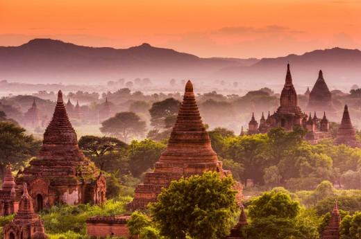 Bagan, Barma