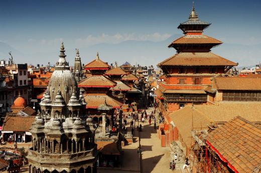 Centrum Káthmándú, Nepál