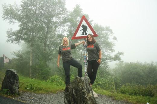Norsko, cesta trollů