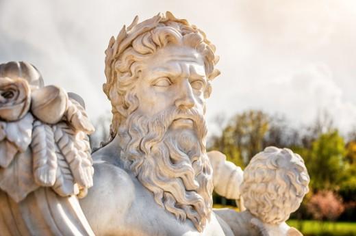 Socha Zeuse