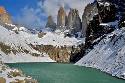 Patagonské kýče - věže Torres del Paine