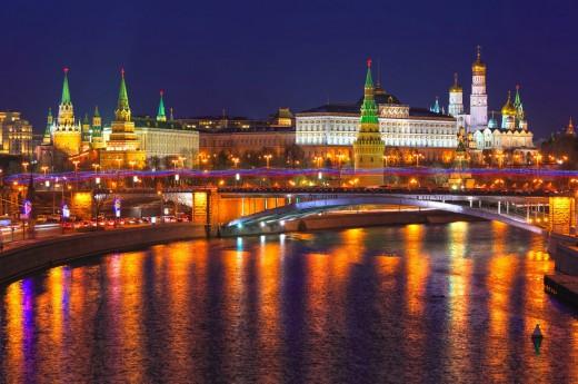 Výhled na Moskvu