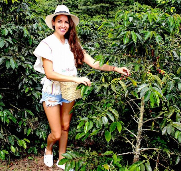 Plantáž Finca Del Café v Kolumbii.
