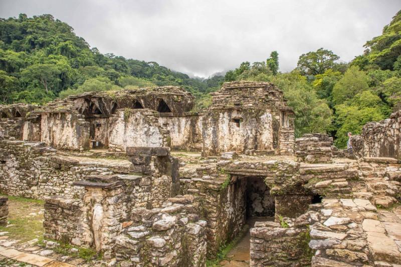 Palác bájného města Palenque.