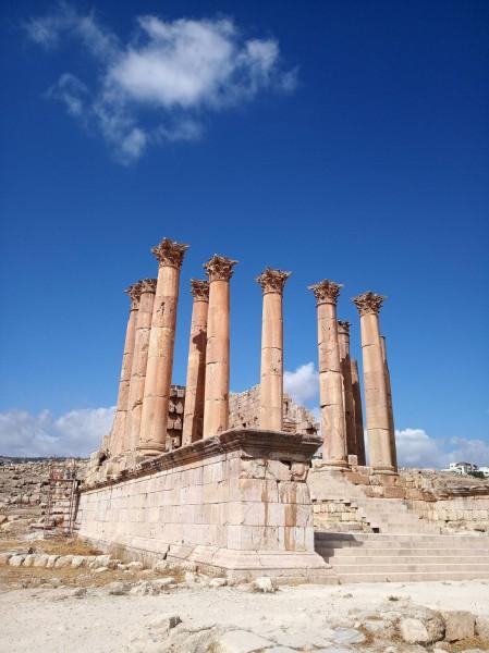 Chrám zasvěcený bohyni Artemis, patronce města.