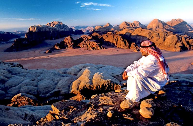 Nádherná příroda Jordánska.