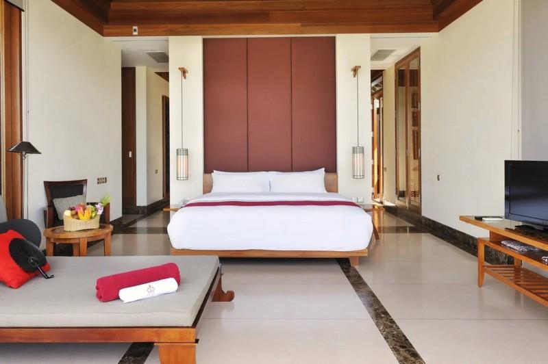 Váš pokoj v luxusní vile.
