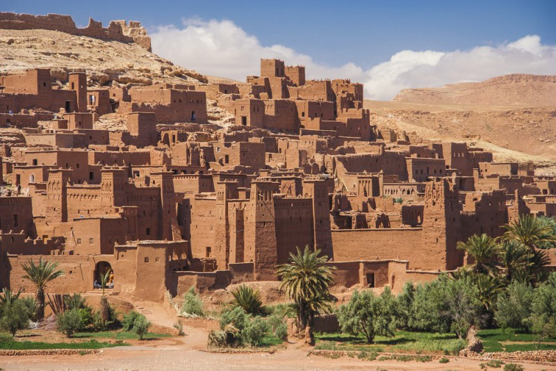 Ait Ben Haddou v Maroku