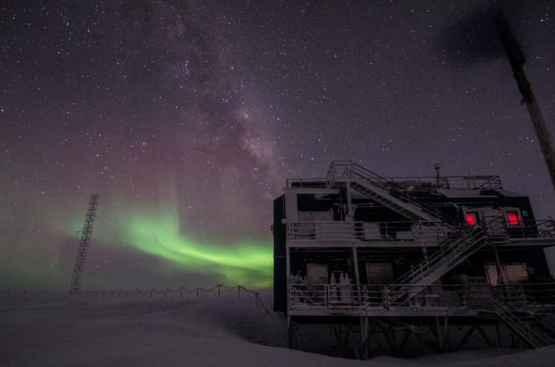 Atmospheric Research Observatory, Jižní pól, Antarktída