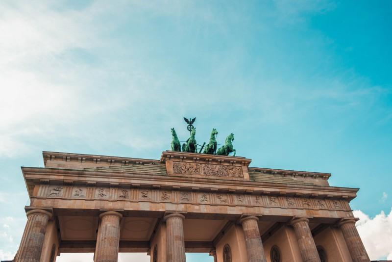 Braniborská brána v Berlíně, Německo