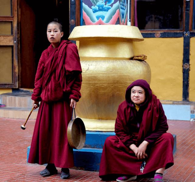 Bhútánské jeptišky