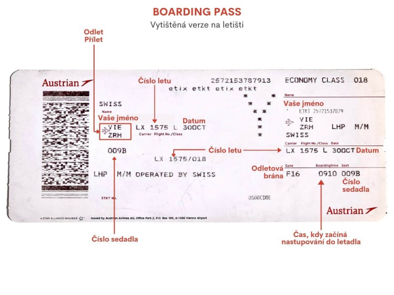 Boarding pass.