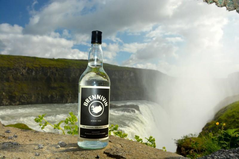 Islandské pivo a Brennivin