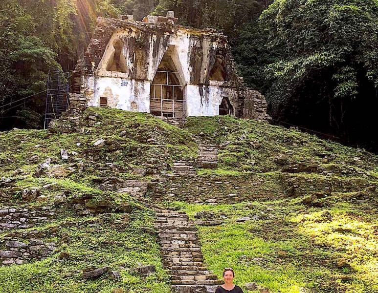 Nejmladší chrám vybudovaný po Pakalově smrti.