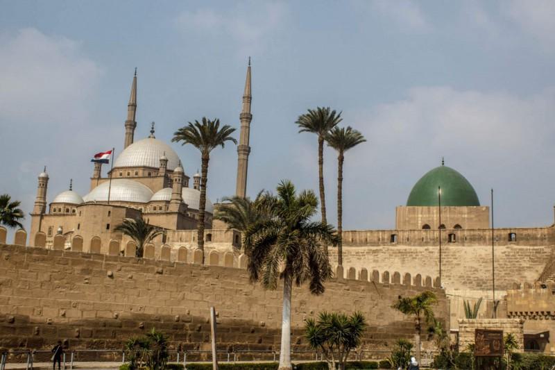 Citadela v Káhiře