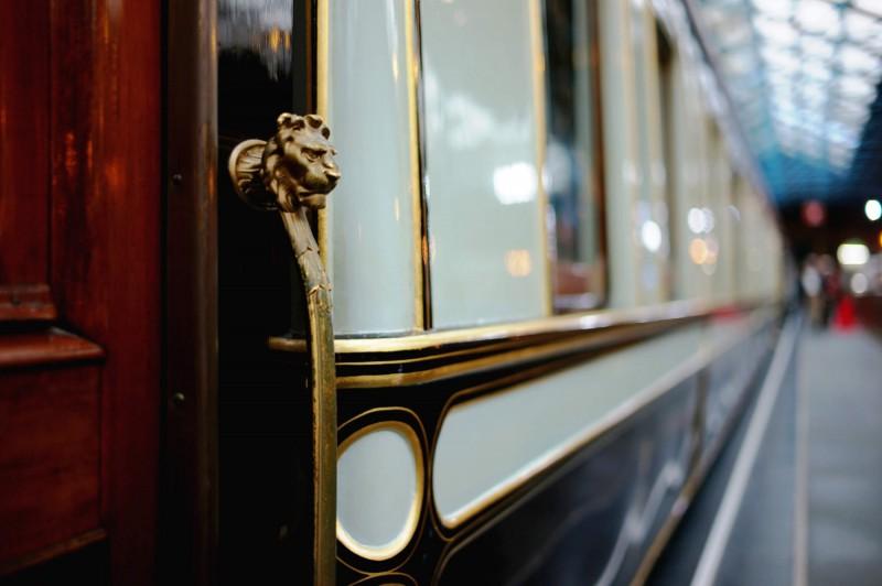 Detail vlaku do Bradavíc
