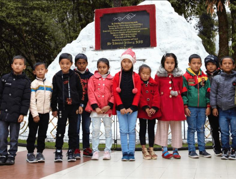 Děti v Darjeelingu