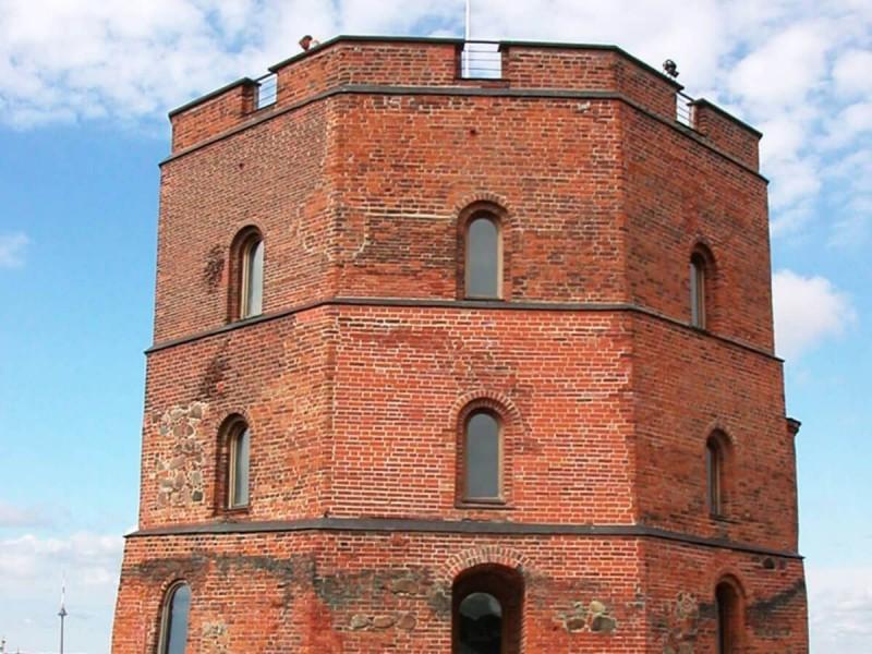 Gediminasův hrad.