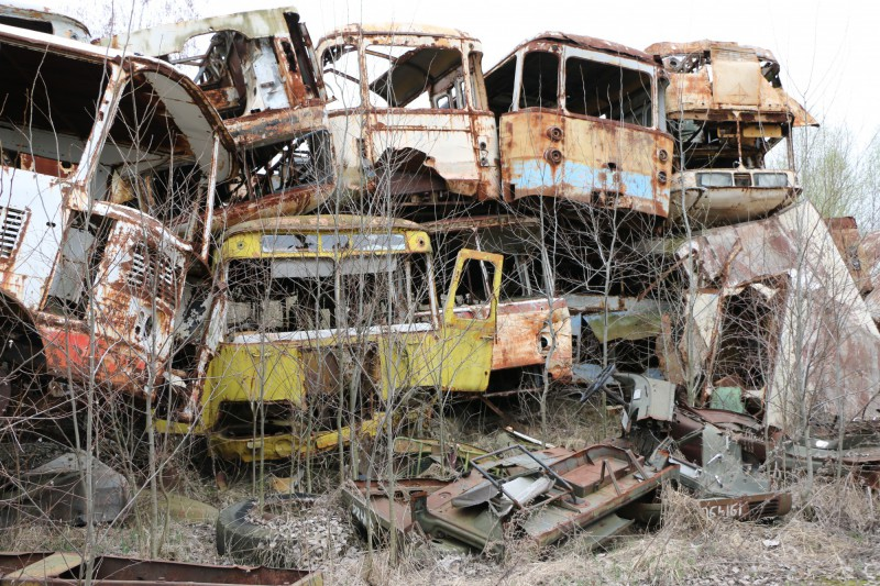 Vrakoviště autobusů