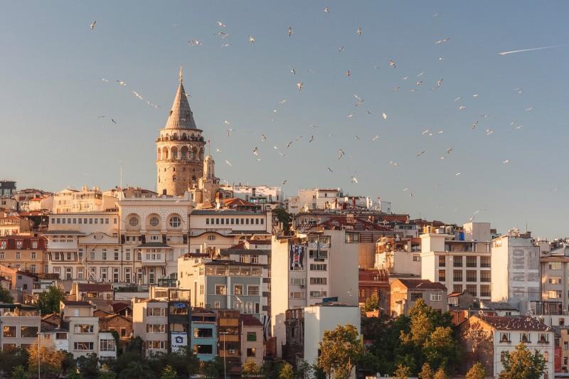 Věž Galata v Istanbulu, Turecko
