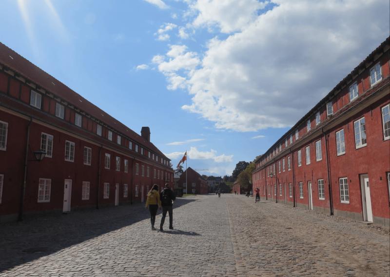 Kasárny v Kodani.