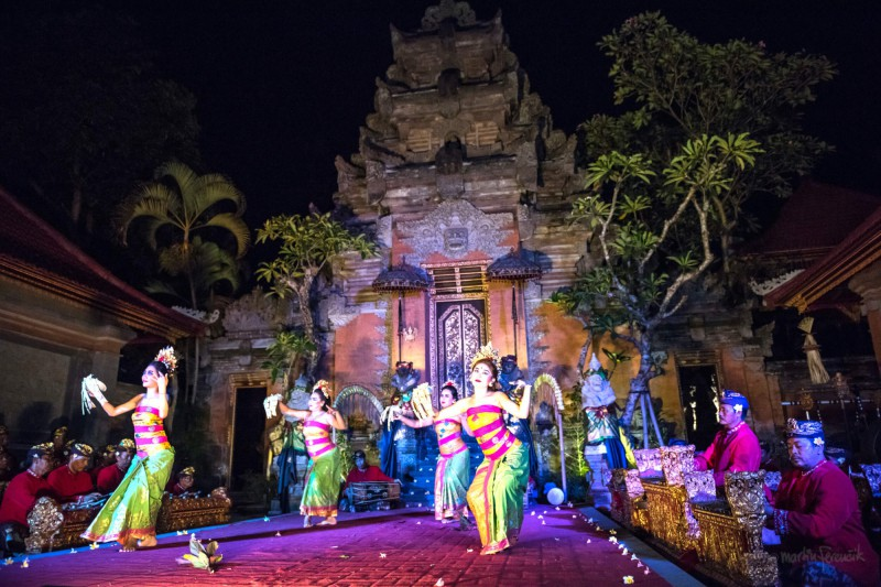 Klasický indonéský tanec
