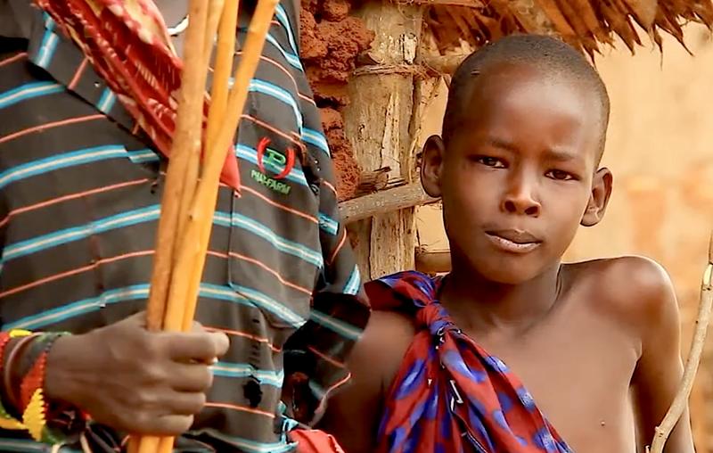 Lidé z východní Afriky.