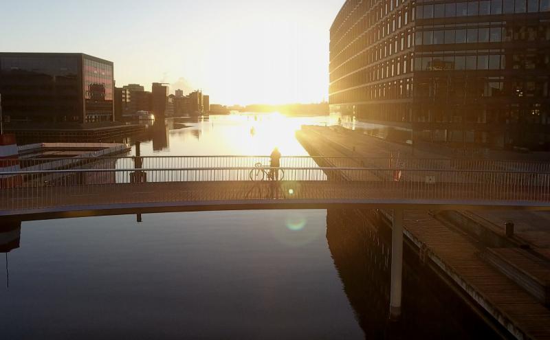 Kodaň je městem kol a vody