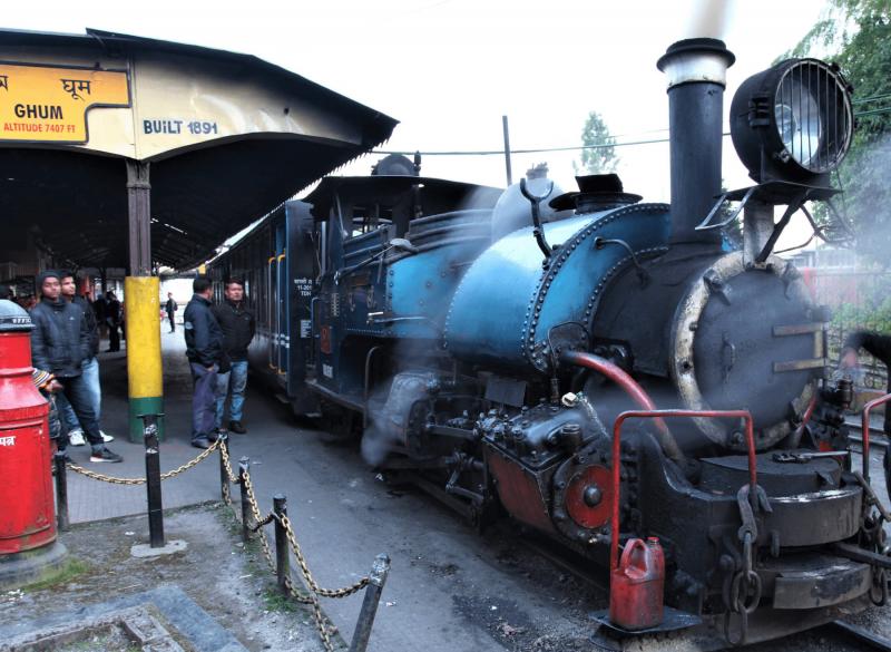 Koloniálni železnice v Darjeelingu