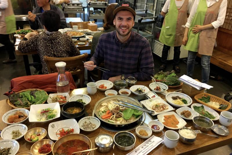 Kulinářské umění v Jižní Koreji