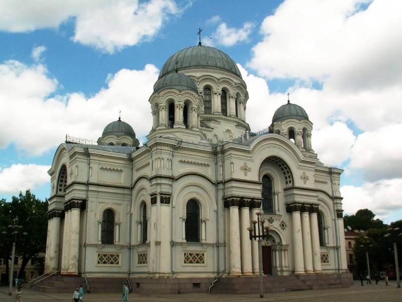 Kostel svatého archanděla Michaela.