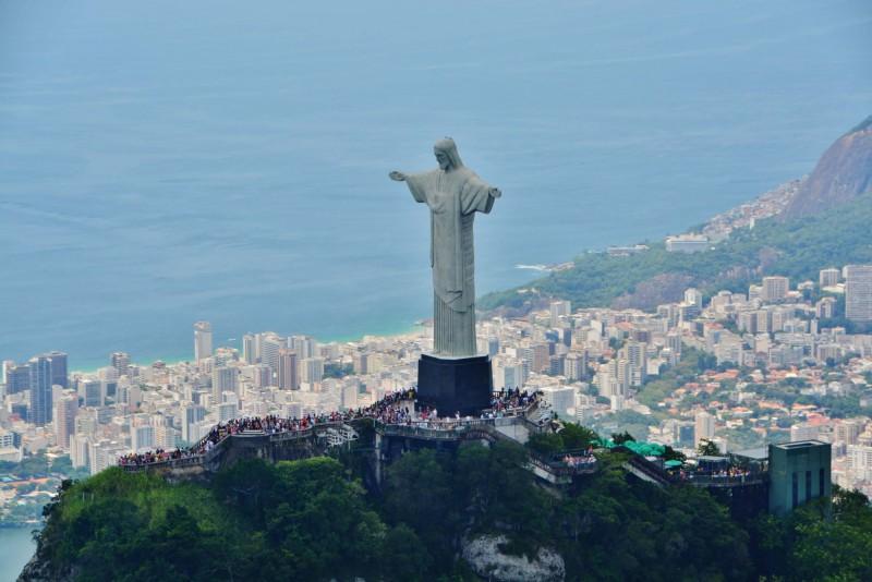 Kristus Spasitel a výhled na Rio de Janeiro