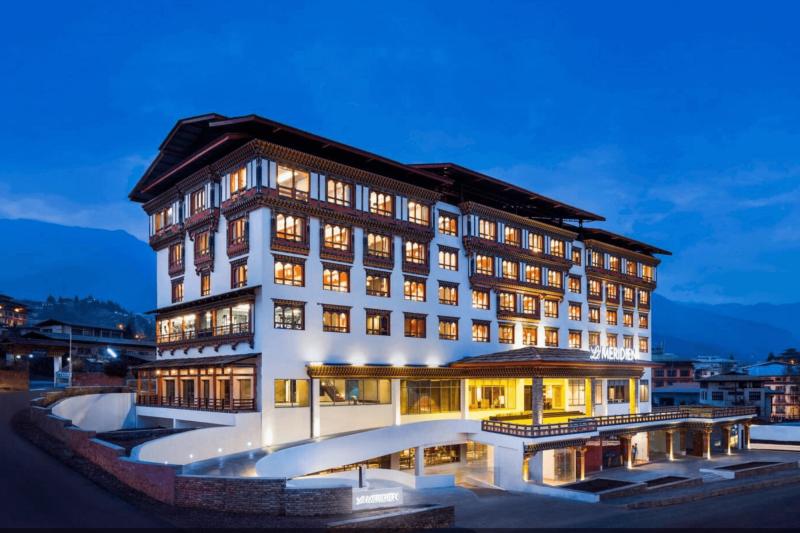 Hotel Le Meridien v Thimpu