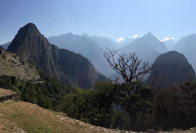 Machu Picchu výhled
