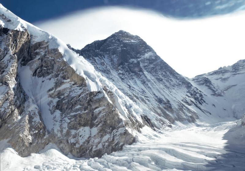 Mount Everest z nepálské strany