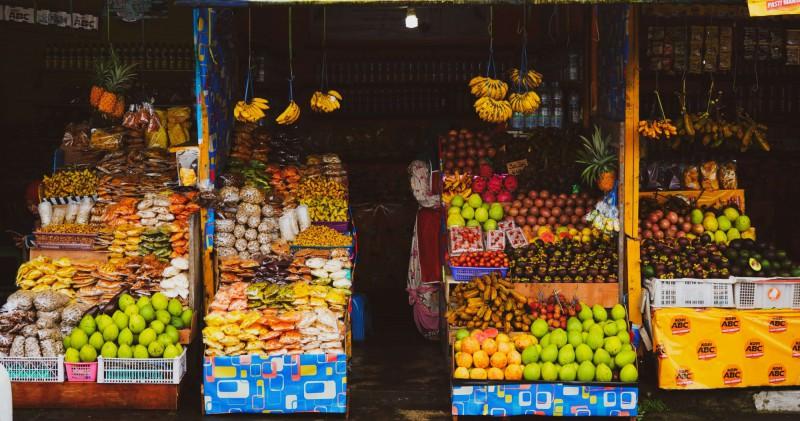 Čerstvé ovoce na Bali