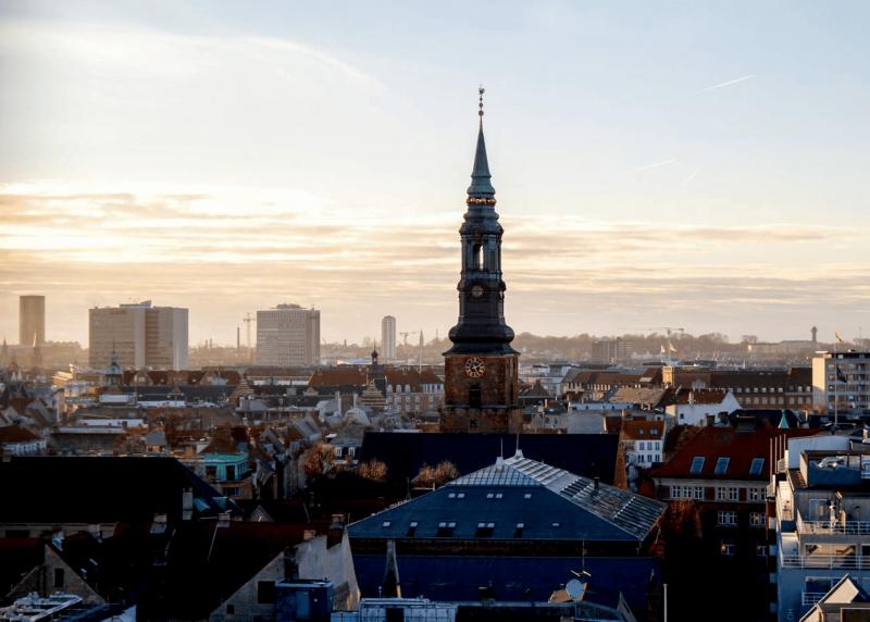 Panoráma města Kodaň.