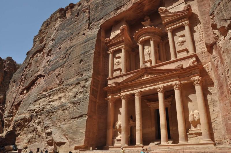 Pokladnice Al-Chazneh v Petře