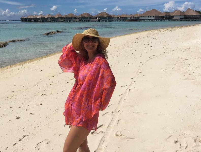 Pláž na ostrově Baa Atol