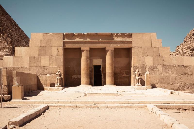 Pohřební chrám Chufuova pyramida