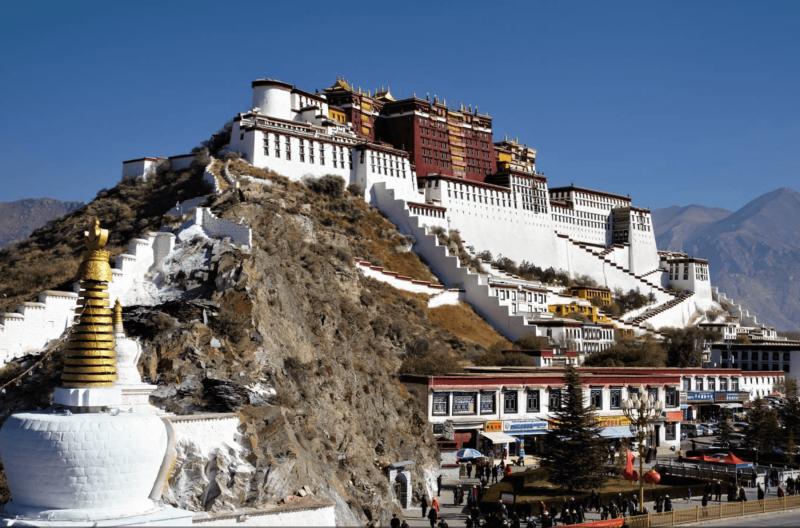 Sídlo dalajlámů - Palác Potála