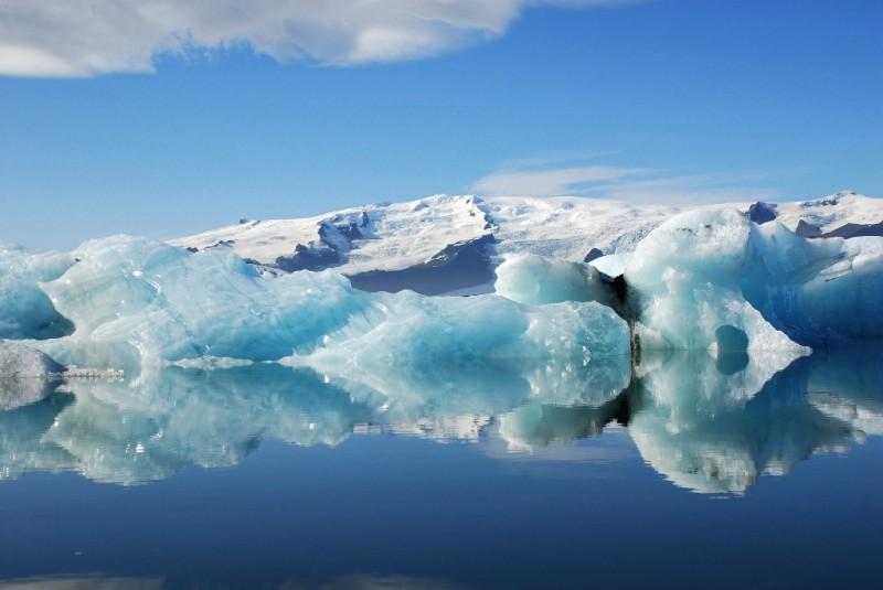 Island - ledovec Vatnajökull