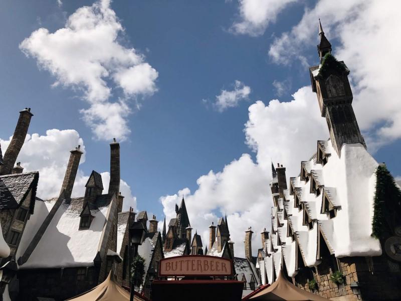 Prasinky v Universal Studios v Orlandu