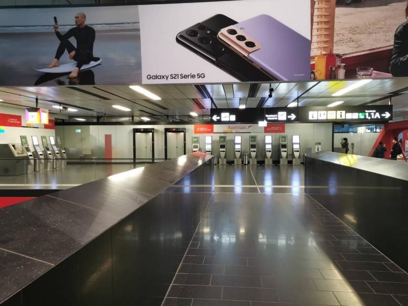Samoobslužné automaty ve Vídni.