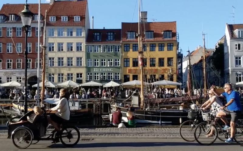 Sluneční Nyhavn je dánská pohádka